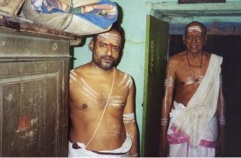 Brahmin priests